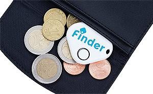 Musger Bluetooth Tracker kann verlorene Geldbörsen auffinden