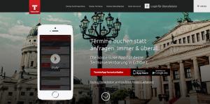 Termin App für Smartphone