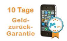 mSpy Geld-zurück-Garantie auf iPhone Spionage ohne Jailbreak