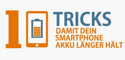 Längere Akkulaufzeiten für Ihr Smartphone