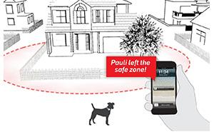 GPS Sicherheitszone Haustier