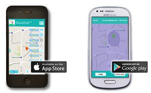Kinder GPS Uhr Handy App für iPhone und Android