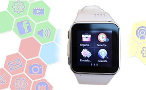 smartwatch datecare handy sofort. Black Bedroom Furniture Sets. Home Design Ideas