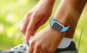 Apple Watch Sport Blue Runner - Smartwatch
