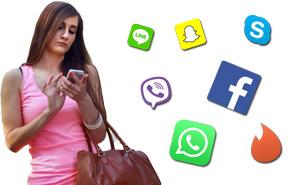 WhatsApp, Facebook, Tinder und Snapchat ausspionieren