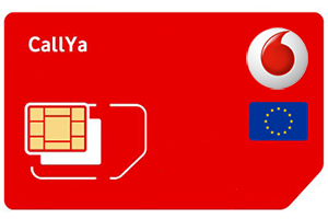 Vodafone CallYa Prepaid im Ausland
