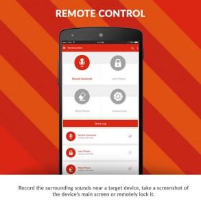 Remote-Control für das Handy / Fernüberwachung