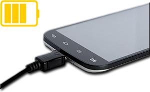 Android Handy während der Root-Installation aufladen
