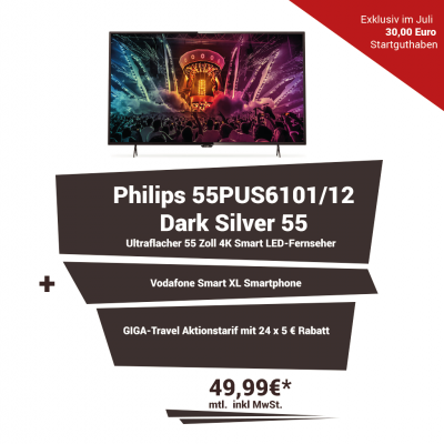 Vodafone Smart XL inkl. Philips 55PUS6101/12