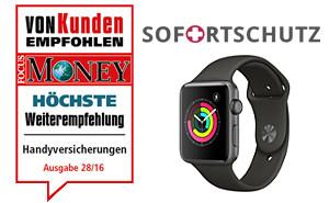 Apple Watch Versicherung für alle Fälle