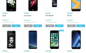 Neue Smartphones online vergleichen