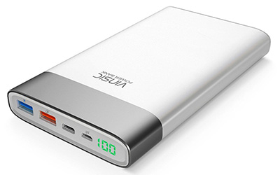 Vinsic Powerbank 20.000mAh